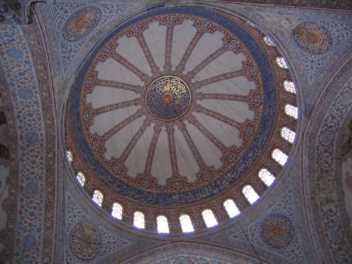 Die Kuppel der Blauen Moschee