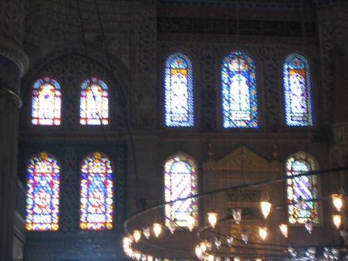 Fenster in der Blauen Moschee