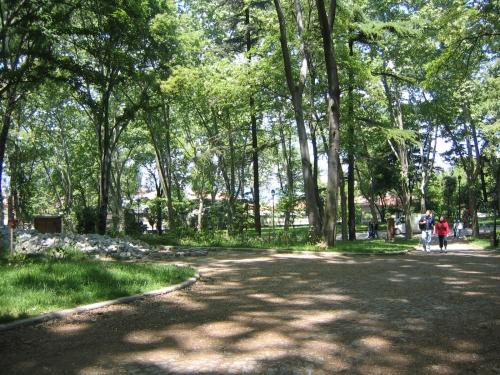 Der Park des Topkapi Palastes
