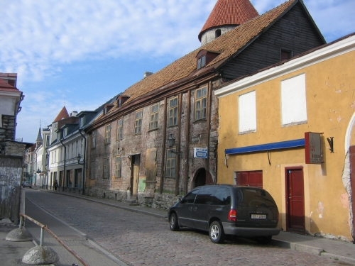 Altstadtgasse in Tallinn