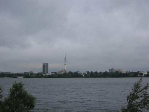 Die Aussenalster in Hamburg