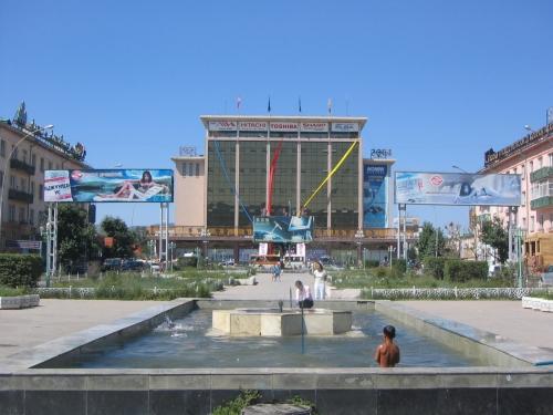 Das ehemals staatliche Einkaufszentrum