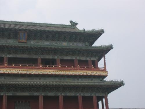 Nahaufnahme des Qianmen Tores