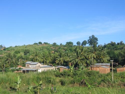 Ein Dorf irgendwo an der Tazara Bahnlinie in Zentral Tanzania