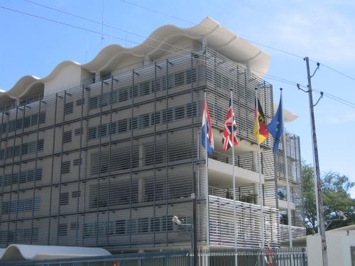Die niederlaendische, britische und deutsche Botschaft in Tanzania