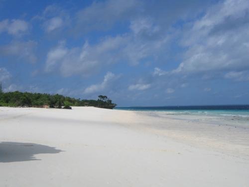 Der Strand von Kendwa im Norden Zanzibars