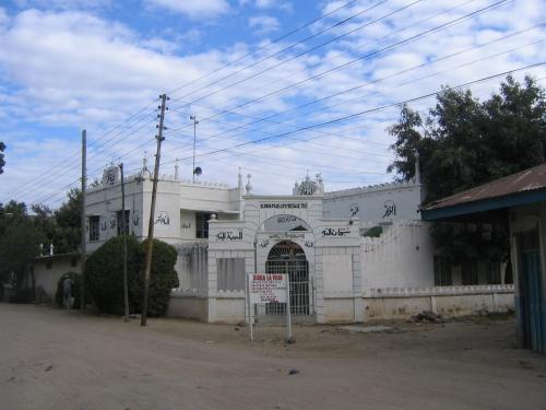 Eine kleine Moschee im Zentrum von Dodoma