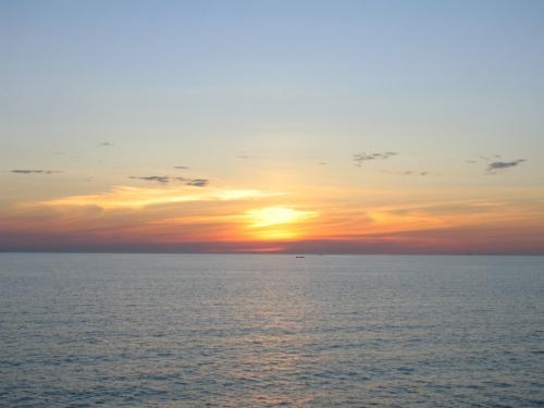 Sonnenuntergang auf dem Lake Victoria