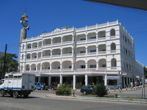 Das Castle Royal Hotel in Mombasa