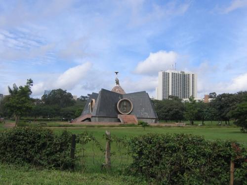 Das Monument im Central Park in Nairobi