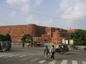 Das Agra Fort in Agra