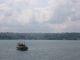Ein Schiff auf dem Weg nach Asien