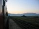 Blickzurueck aus dem Zug