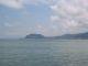 Ein Felsvorsprung im Schwarzen Meer