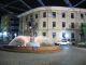 Der Haselnussbrunnen am Abend - Giresun ist Zentrum des Haselnussanbaus
