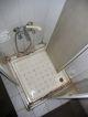 Die nicht mehr genutze Dusche im Hotel in Rize