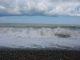 Der Wind macht Wellen und vertreibt die Wolken