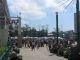 Der Gemuesemarkt vor der Markthalle