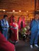 Eine Vorfuehrung burjatischer Kultur