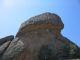 Der Schildkroete genannte Felsen im NSG