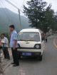 Unser Minibus mit Fahrer zur Mauer nach Huanghua