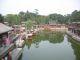 Kleiner See im Sommerpalast in Peking