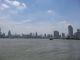 Die westliche Skyline von Shanghai