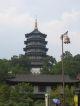 Die grosse Pagode am Westsee von Hangzhou