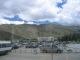Bilck vom Flughafen bei Lhasa