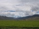 Vorn gruen, hinten Himalaya