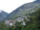 Die Stadt Zhangmu an der Grenze zu Nepal
