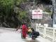 Die Freundschaftsbruecke, Grenze zwischen China und Nepal