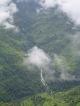 Wasserfall und Wolken