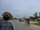 Rikschafahrt zur nepalisch-indischen Grenze