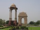 Das India Gate in New Delhi