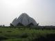 Der Bahai Tempel oder auch Lotus Tempel