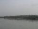 Das Agra Fort von der Eisenbahnbruecke aus