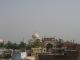 Taj Mahal von der Dachterasse des Hotels