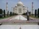 Ich vorm Taj Mahal