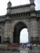 Das Gateway of India in Bombay