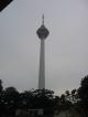 Der Fernsehturm von KL, auch ueber 400 Meter hoch