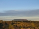 Der Ayers Rock bei Sonnenuntergang