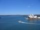 Blick von der Bruecke auf Hafen und Opernhaus