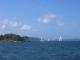 Clarke Island und der Hafen von Sydney