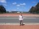 Ich stehe Kilometer vor dem Parlamentshaus auf dem Capital Hill