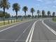 Die Formel 1 Rennstrecke im Albert Park