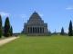 Der Shrine of Rememberance, ein weiteres Kriegsopferdenkmal