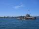 Eine Insel im Sydney Harbour