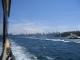 Blick auf Sydney auf der Fahrt nach Manly