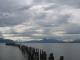 Wolken ueber Puerto Natales